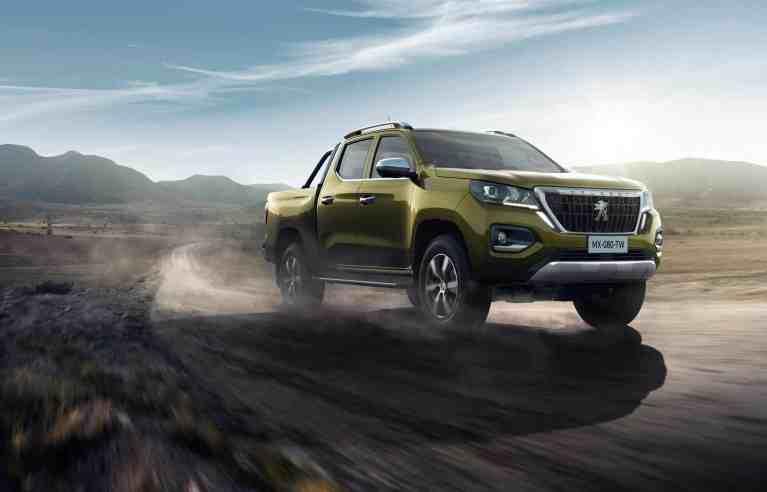 Peugeot's neuer Pick-up Landtrek nicht für Europa