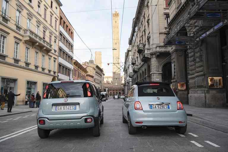 Fiat 500 Hybrid und Fiat Panda Hybrid