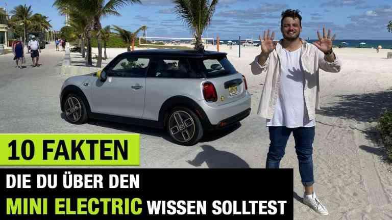 10 interessante Fakten über den MINI Electric, Jan Weizenecker