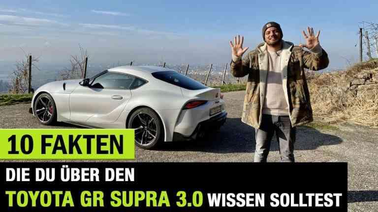 Toyota Supra, 1o Fakten, Jan Weizenecker