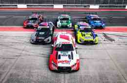 Die sechs werksseitig eingesetzten Audi RS 5 DTM haben zur Saison 2020 eine frische Optik erhalten.