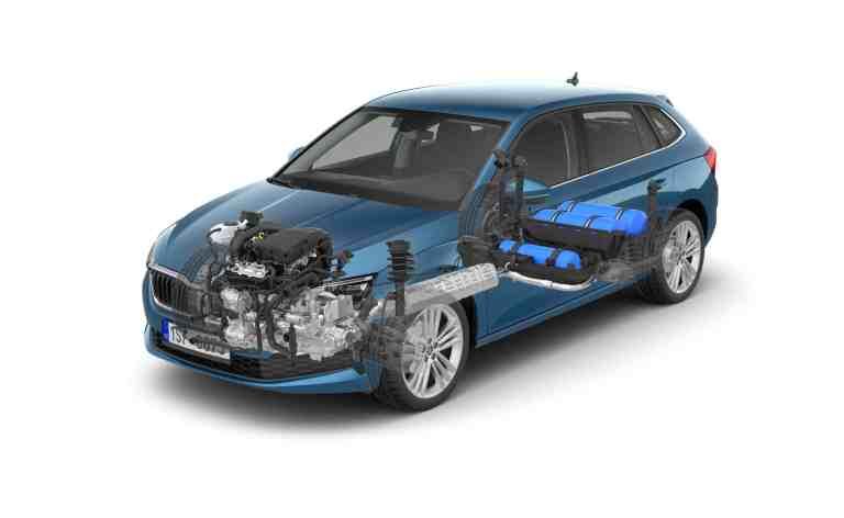 Erdgasantriebe in den Škoda G-TEC-Modellen bis 50 Prozent niedrigere Kraftstoffkosten