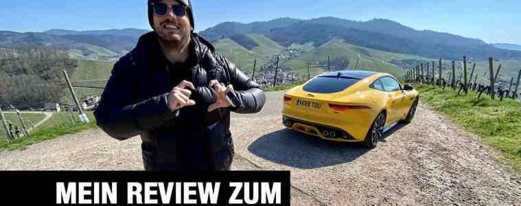 Neuer Jaguar F-Type R Coupé (575 PS) - Fahrbericht im Video, Jan Weizenecker