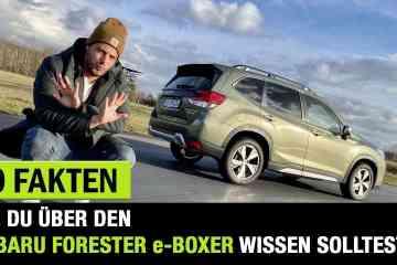 10 interessante Fakten zum neuen Subaru Forester e-Boxer, Jan Weizenecker