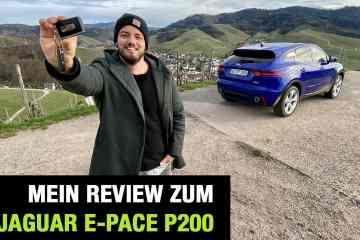 """Jaguar E-Pace P200 AWD """"R-Dynamic S"""" (200 PS) - Fahrbericht im Video"""