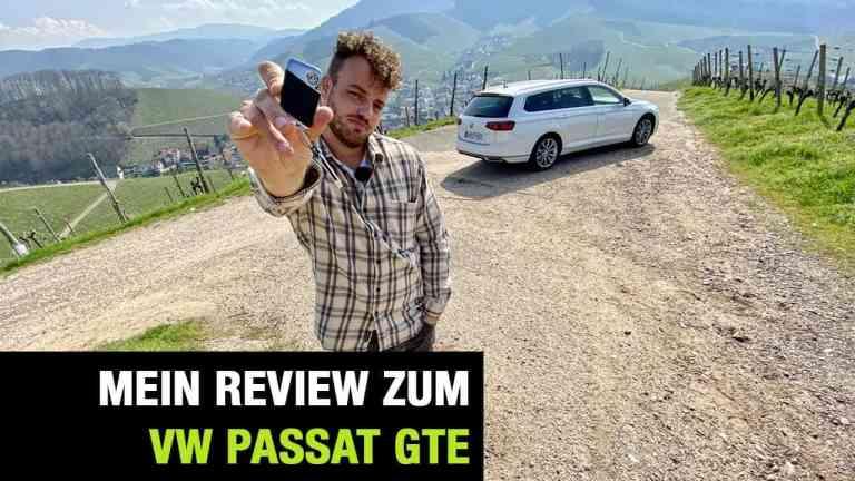 VW Passat B8.2 Variant GTE, Jan Weizenecker