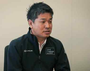 "Lexus Electrified""-Chefingenieur Takashi Watanabe"
