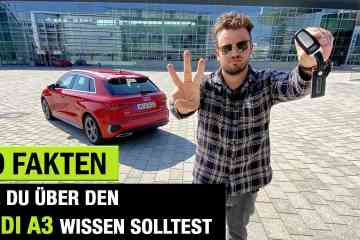 10 Fakten, die DU schon immer über den neuen Audi A3 wissen wolltest!, Jan Weizenecker