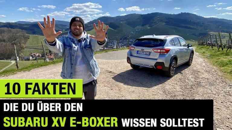 Subaru XV 2.0ie e-Boxer (2020)