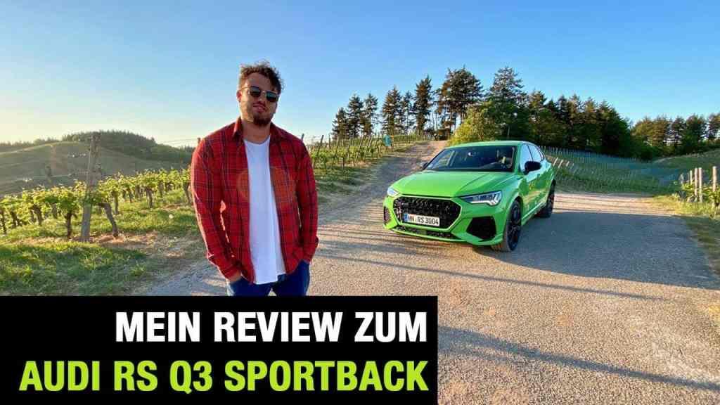 2020 Audi RS Q3 Sportback (400 PS) - Fahrbericht | Full Review | Test-Drive | 0-100 km/h | Sound, Jan Weizenecker