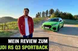 2020 Audi RS Q3 Sportback (400 PS) - Fahrbericht | Full Review | Test-Drive | 0-100 km/h | Sound, Jan Weizenecker