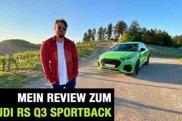 2020 Audi RS Q3 Sportback (400 PS) - Fahrbericht   Full Review   Test-Drive   0-100 km/h   Sound, Jan Weizenecker