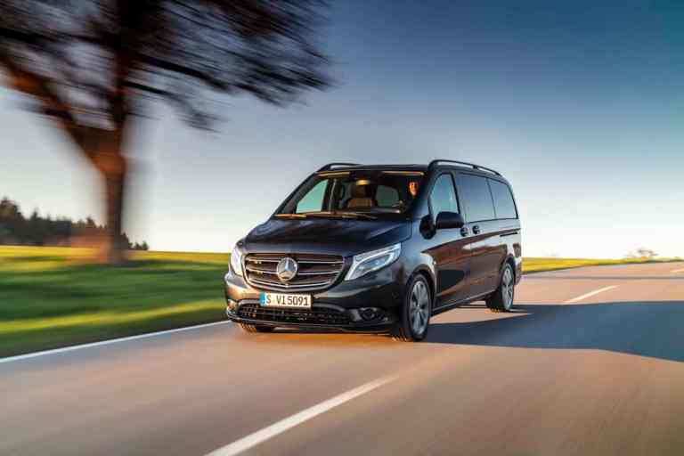 Mercedes-Benz Vito Tourer.