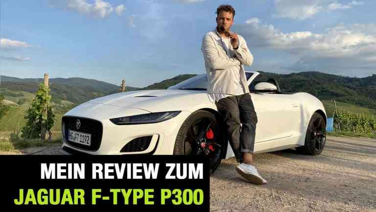 """2020 Jaguar F-Type Cabrio P300 """"First Edition"""" (300 PS) - Fahrbericht 