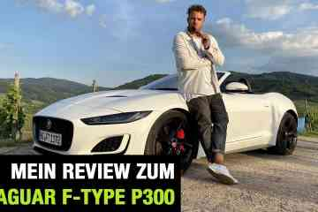 "2020 Jaguar F-Type Cabrio P300 ""First Edition"" (300 PS) - Fahrbericht 