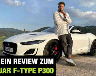 """2020 Jaguar F-Type Cabrio P300 """"First Edition"""" (300 PS) - Fahrbericht   FULL Review   RWD Test   Sound"""