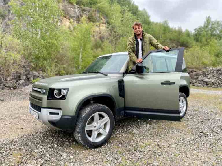 """2020 Land Rover Defender D240 """"S"""" 110 (240 PS) - On/off-road Fahrbericht 