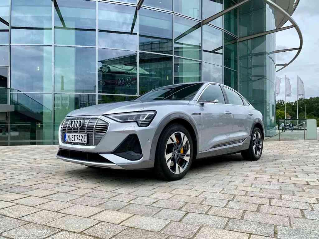 2020 Audi e-tron Sportback S line 55 quattro (408 PS)