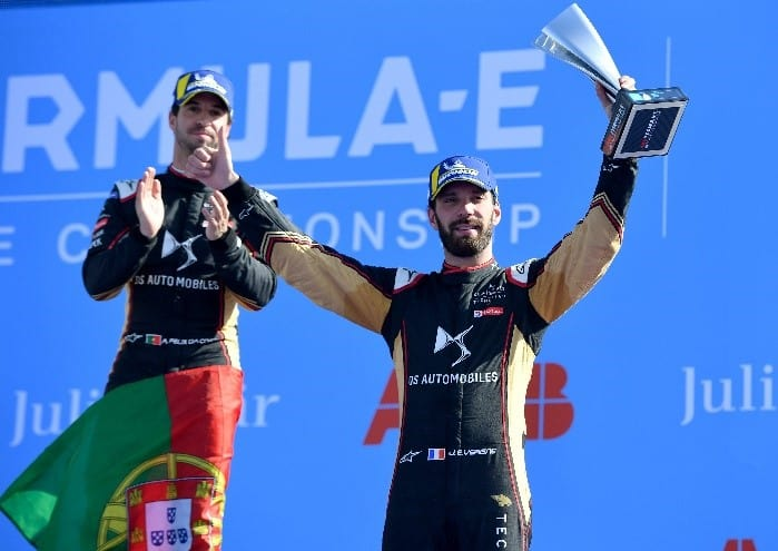 die beiden DS-Piloten Antonio Felix Da Costa und Jean-Éric Vergne