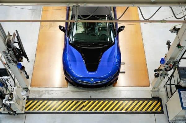 BMW stellt Produktion des BMW i8 ein