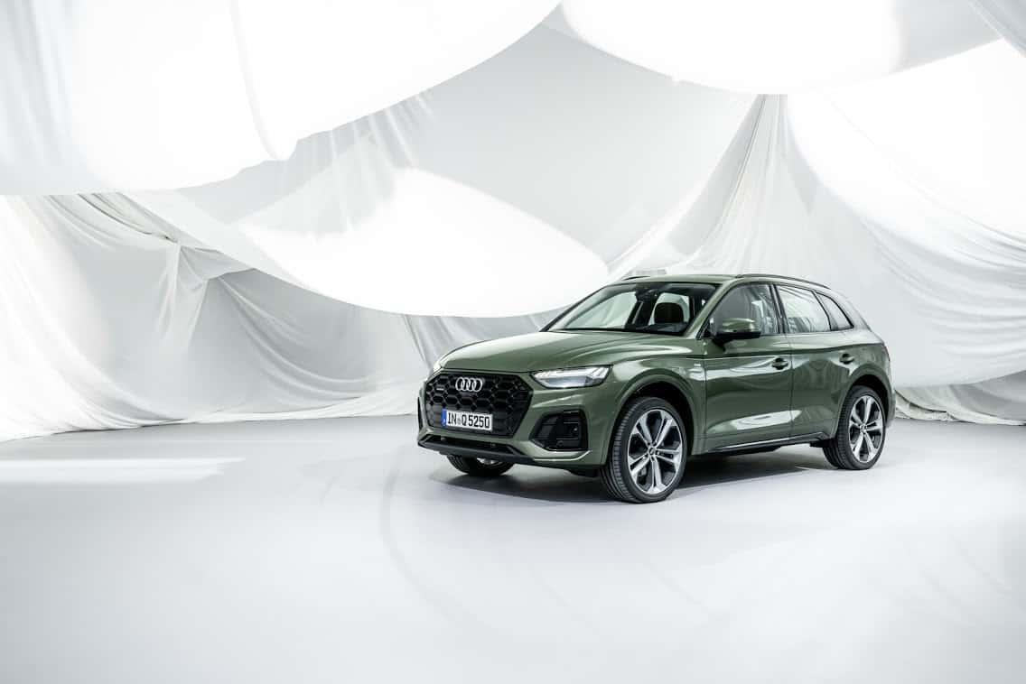 Weltpremiere des neuen Audi Q5 (2020)