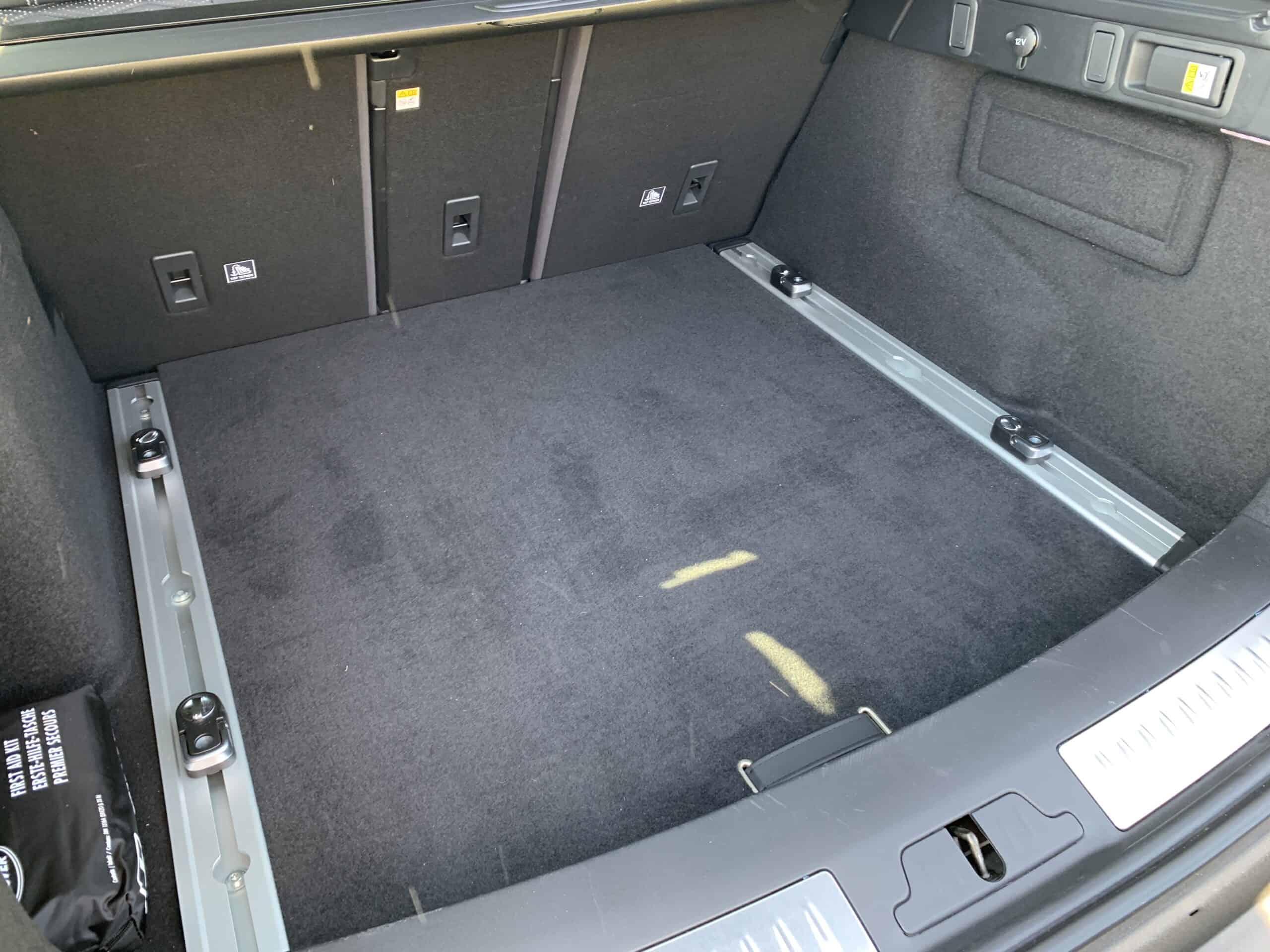 Range Rover Velar 550 P SV Autobiography Dynamic Edition (2020), Kofferraum