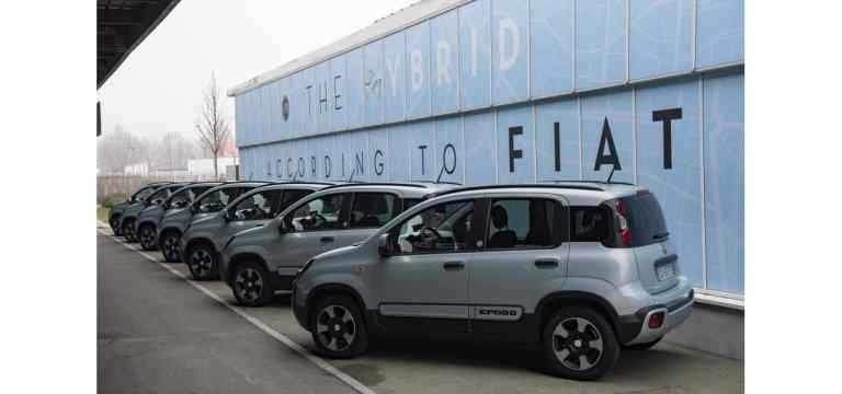 Neuer Fiat Panda Urban Hybrid