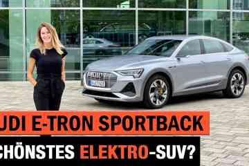 Audi e-tron Sportback - Schönstes Elektro-SUV?! Review | Test | Exterieur | Interieur | Coupé 2020