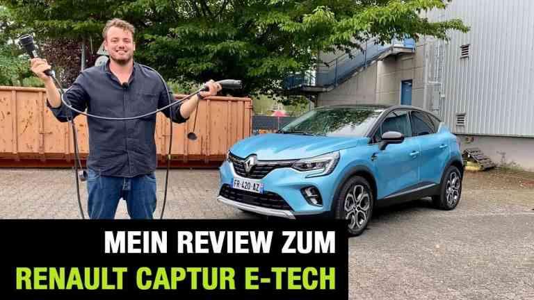2020 Renault Captur E-TECH Plug-in Hybrid 160 (158 PS) - PHEV - Fahrbericht   Review   Test, Jan Weizenecker