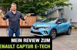 2020 Renault Captur E-TECH Plug-in Hybrid 160 (158 PS) - PHEV - Fahrbericht | Review | Test, Jan Weizenecker