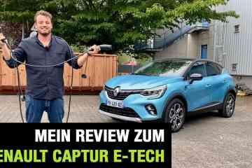 2020 Renault Captur E-TECH Plug-in Hybrid 160 (158 PS) - PHEV - Fahrbericht | Review | Test, Jan Weizenecker