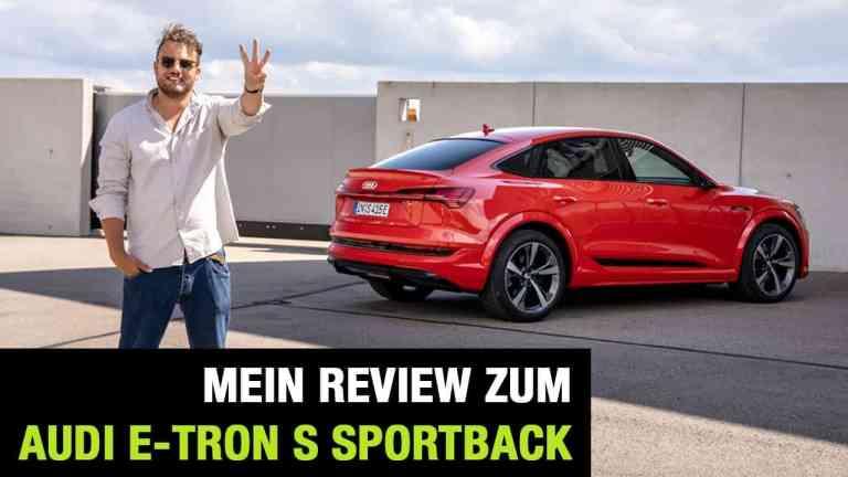 2020 Audi e-tron S Sportback (503 PS) - Drei Motoren für ein Halleluja? Fahrbericht | Review | Test, Jan Weizenecker