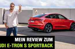 2020 Audi e-tron S Sportback (503 PS) - Drei Motoren für ein Halleluja? Fahrbericht   Review   Test, Jan Weizenecker