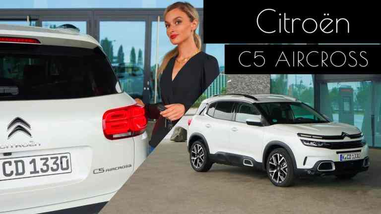 2020 Citroën C5 Aircross Shine BlueHDI 180 EAT8 -Meine Eindrücke - Test I Review, NinaCarMaria