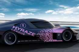 So oder so ähnlich könnten die Wasserstoff-Rennwagen der geplanten Hyraze-Motorsportserie aussehen, für die HWA und Schaeffler die technische Basis liefern.