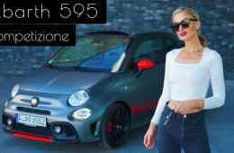(2020) Abarth 595 Competizione Cabrio 70° Anniversario - Mini-Ferrari? - Test I POV I Sound, NinaCarMaria