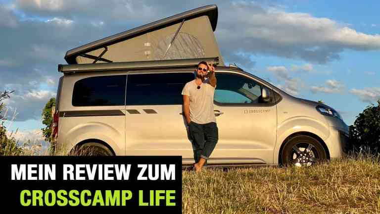 2020 Crosscamp Life: Camping-Van auf Opel Zafira Life Basis - Fahrbericht   Review   Test
