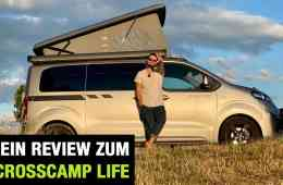 2020 Crosscamp Life: Camping-Van auf Opel Zafira Life Basis - Fahrbericht | Review | Test