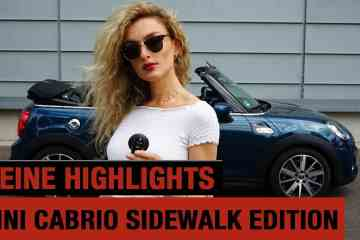 2020 MINI Cooper S Cabrio Sidewalk Edition (192 PS) I Meine 5 Highlights! I POV I Sound I Review