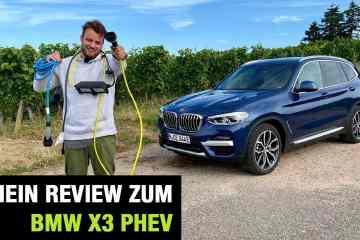 "2020 BMW X3 xDrive30e Plug-in Hybrid ""xLine"" (292 PS) - Fahrbericht | Review | Test | PHEV"