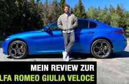Alfa Romeo Giulia Facelift (2020) - Italienisch für Anfänger? Fahrbericht | Review | Test, Jan Weizenecker