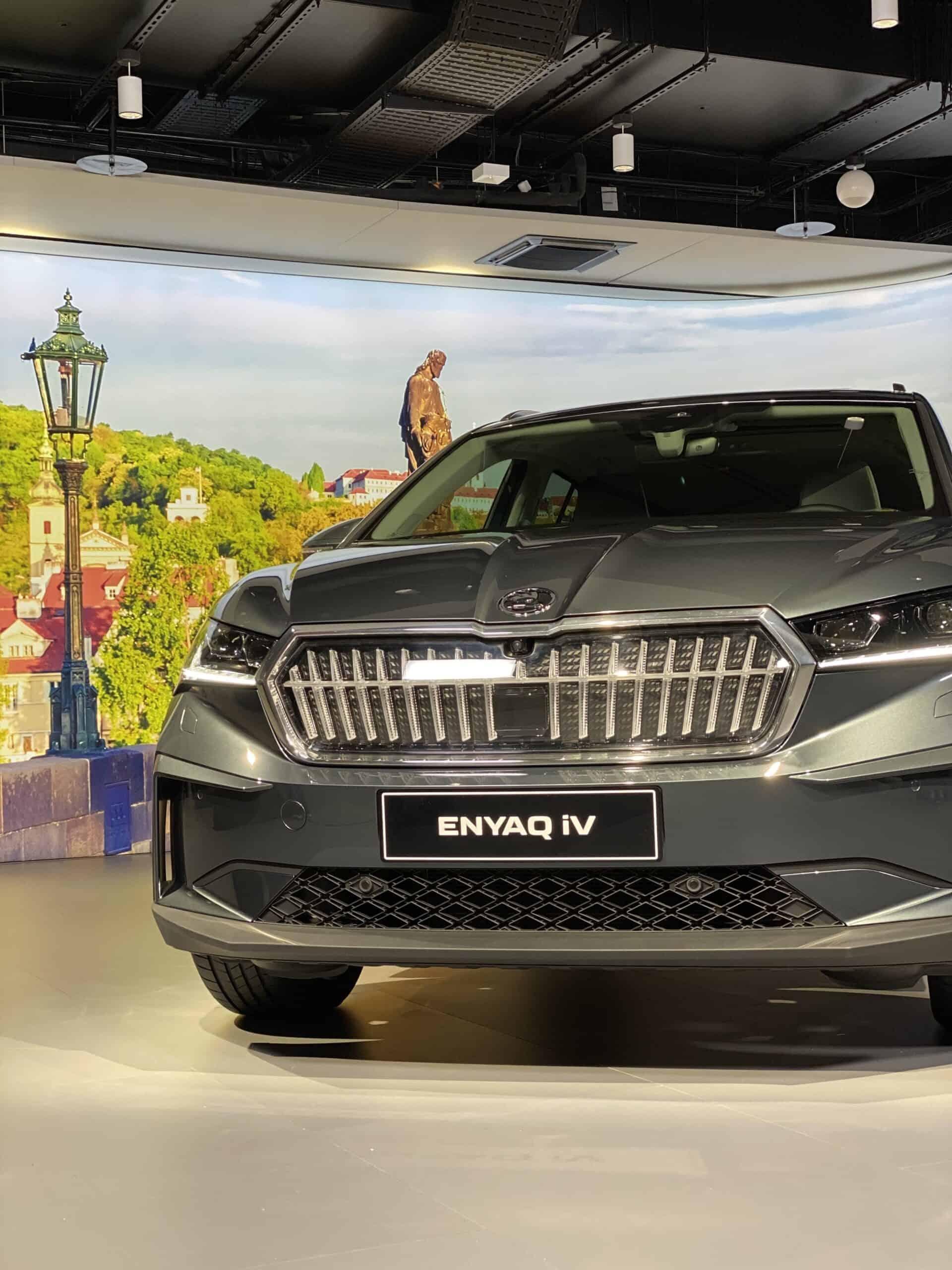Skoda Enyaq iV- Brandneues Elektro-SUV aus Tschechien
