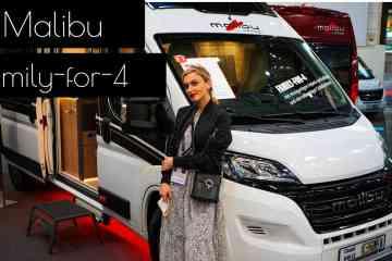 Malibu Van Family-for-4 mit GT Skyview, NinaCarMaria