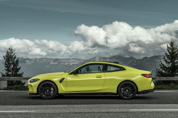 BMW M4 Competition Coupé.