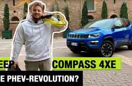 (2020) Jeep Compass 4xe Plug-in Hybrid (240 PS) - Die PHEV-Revolution? Fahrbericht | Review | Test