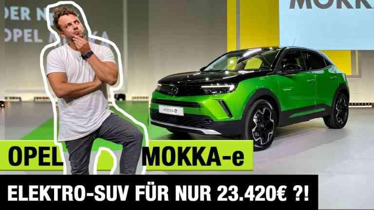 2021 Opel Mokka-e (136 PS) - Elektro-SUV für nur 23.420 Euro?! - Review   Test   kein Fahrbericht