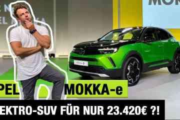 2021 Opel Mokka-e (136 PS) - Elektro-SUV für nur 23.420 Euro?! - Review | Test | kein Fahrbericht