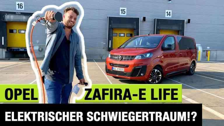2020 Opel Zafira-e Life (136 PS) - Elektrischer Schwiegertraum!? - Fahrbericht | Review | Test