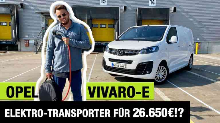2020 Opel Vivaro-e (136 PS) - Elektro-Transporter für 26.650€!? - Fahrbericht | Review | Test