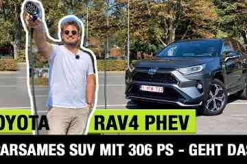 2020 Toyota RAV4 Plug-in Hybrid - Sparsames SUV mit 306 PS - Geht das!? - Fahrbericht | Review